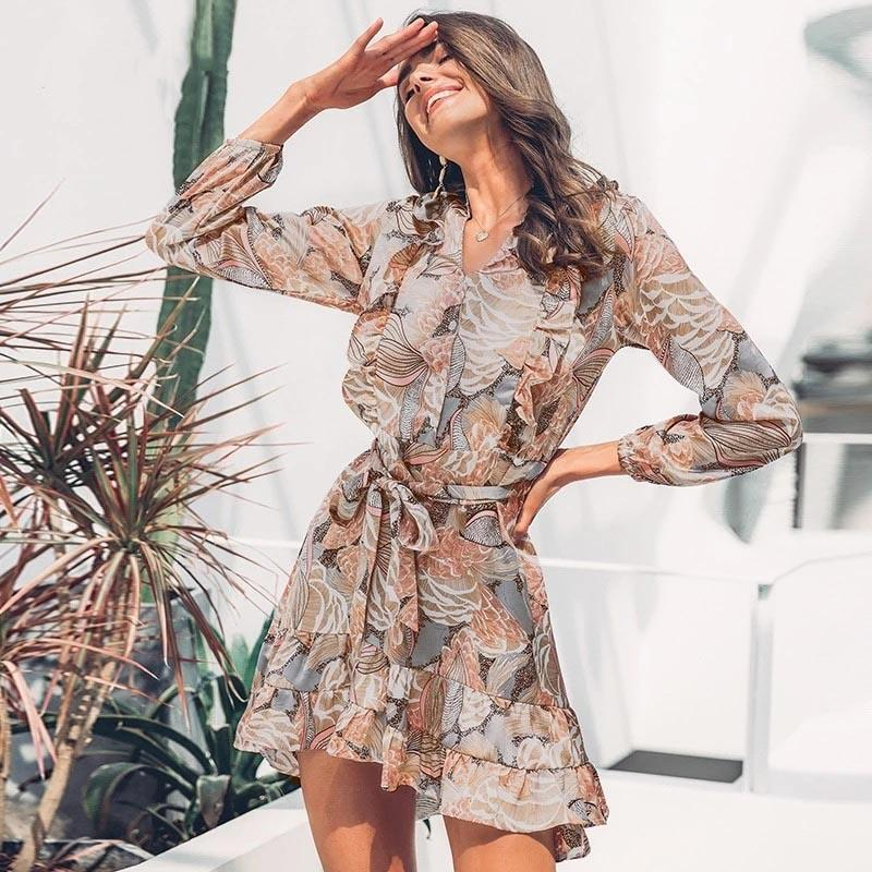 Hippie Chic Boho Fluid Short Dresses cute