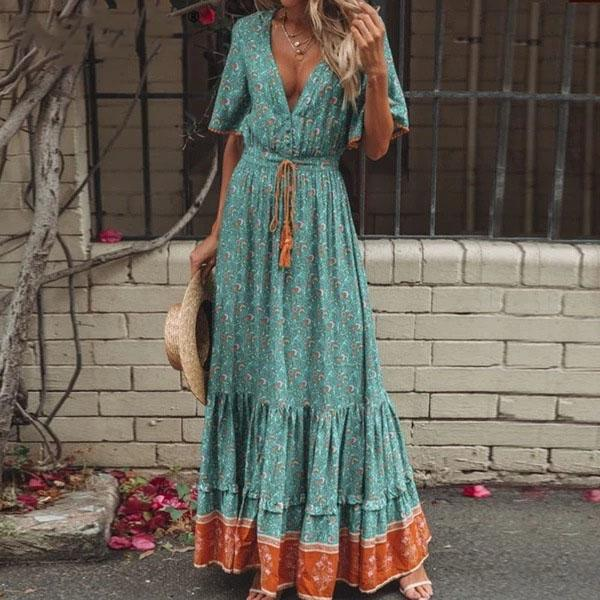 Boho Long Dresses Winter Special high quality