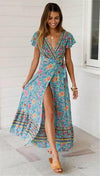Boho Long Dress Ladylike
