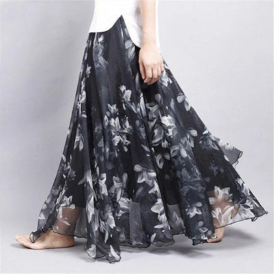 Chic Boho Long Skirt hippie