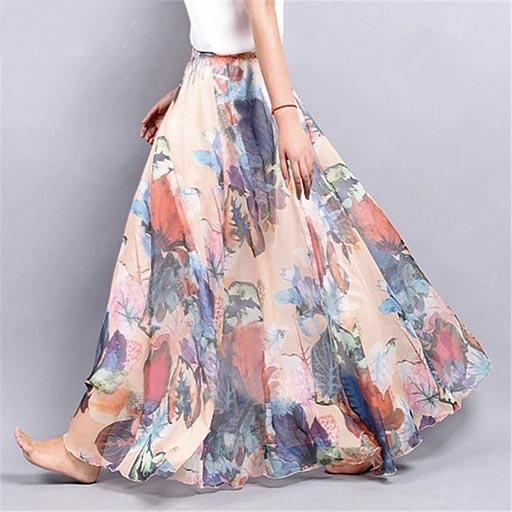 Chic Boho Long Skirt beautiful