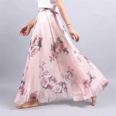 Chic Boho Long Skirt women
