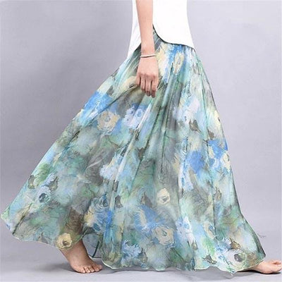 Chic Boho Long Skirt 2019