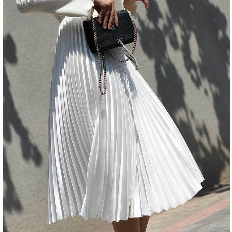 Pleated Boho Long Skirt bohemian life
