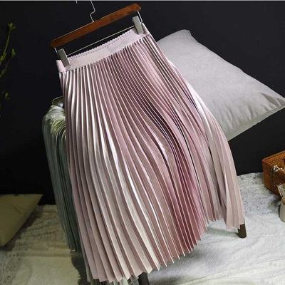 Pleated Boho Long Skirt low price