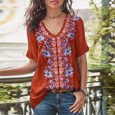 Printed Chic Boho Tunic 2020