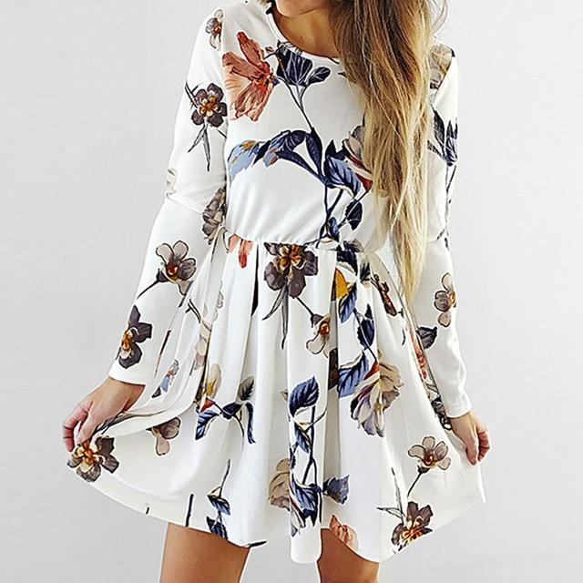 Boho White Chic Short Dresses 2020