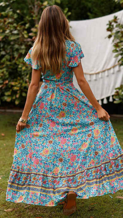 Boho Long Dress chaming
