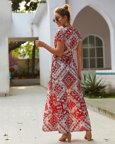 Boho Hippie Chic Summer Maxi Dresses chaming