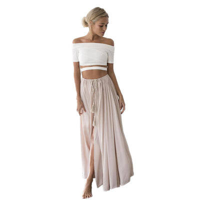 Boho Maxi Long Skirt low price