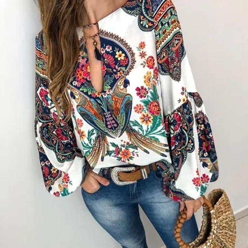 Boho Hippie Blouse 2019
