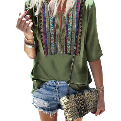 Boho Chic Woman Tunic 2020