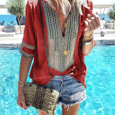 Boho Chic Woman Tunic boho chic