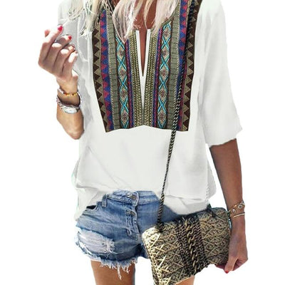 Boho Chic Woman Tunic luxury