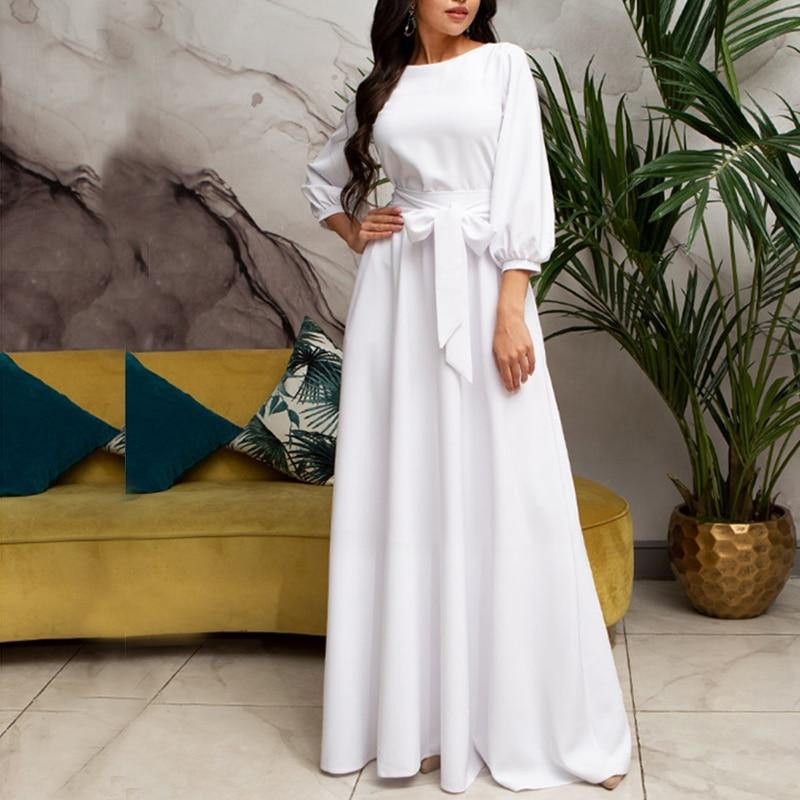 White Boho Long Dress best