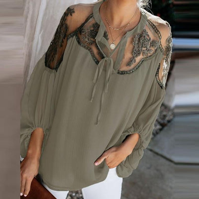 Chic Boho Lace Tunic