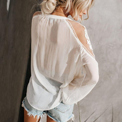 Chic Boho Lace Tunic low price