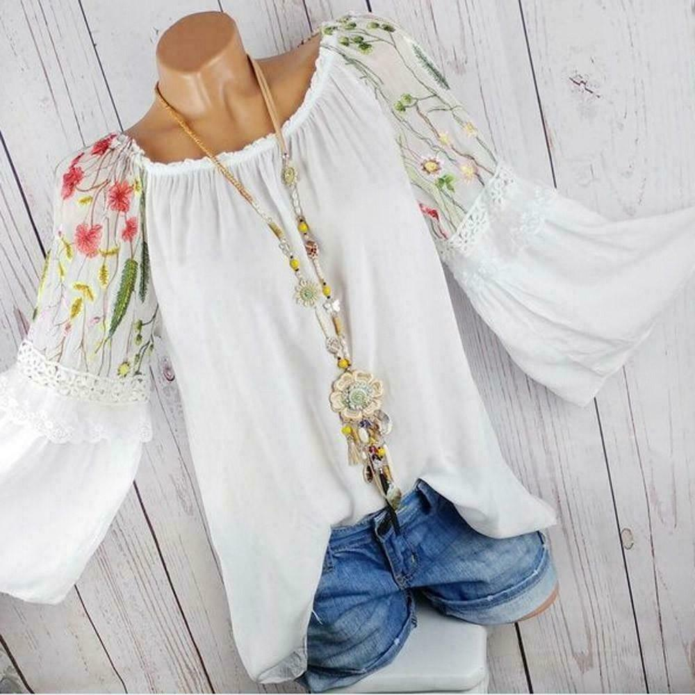 Boho Chic Woman Blouse chic