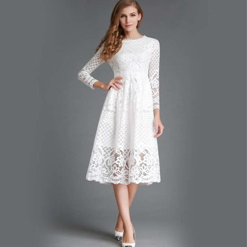 Boho Chic White Long Dress best
