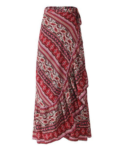 Boho Viscose Long Skirt bohemian