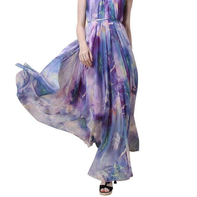 Very Long Boho Dress 2019
