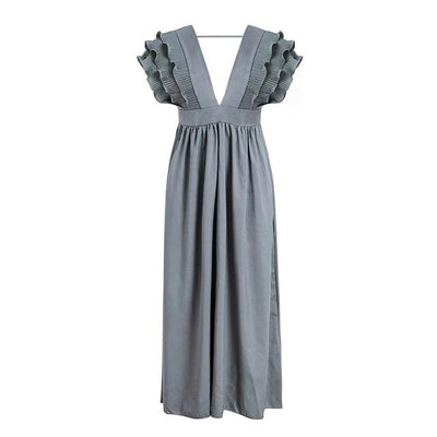 Boho Wedding Dress Gray Wedding Guest boho
