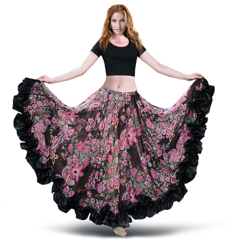 Flamenco Boho Long Skirt 2020