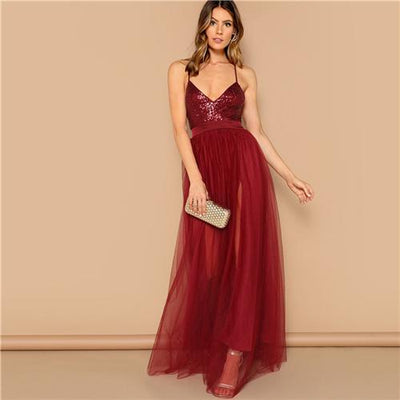 Boho Long Cocktail Dress Chic 2020
