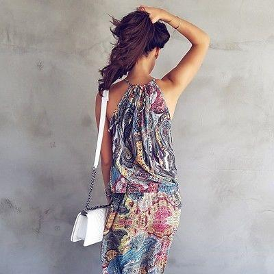Sleeveless Boho Long Dress cheap