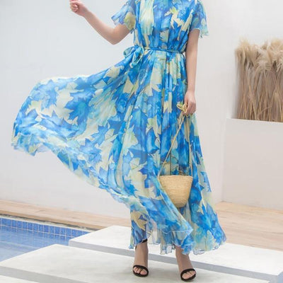 Very Long Boho Dress beautiful