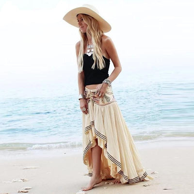 Boho Long Skirt Embroideries review