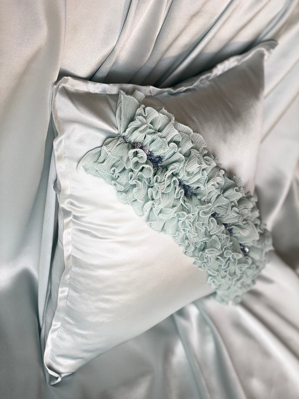 BLUE CORAL ECO-CUSHION - ALEEM YUSUF