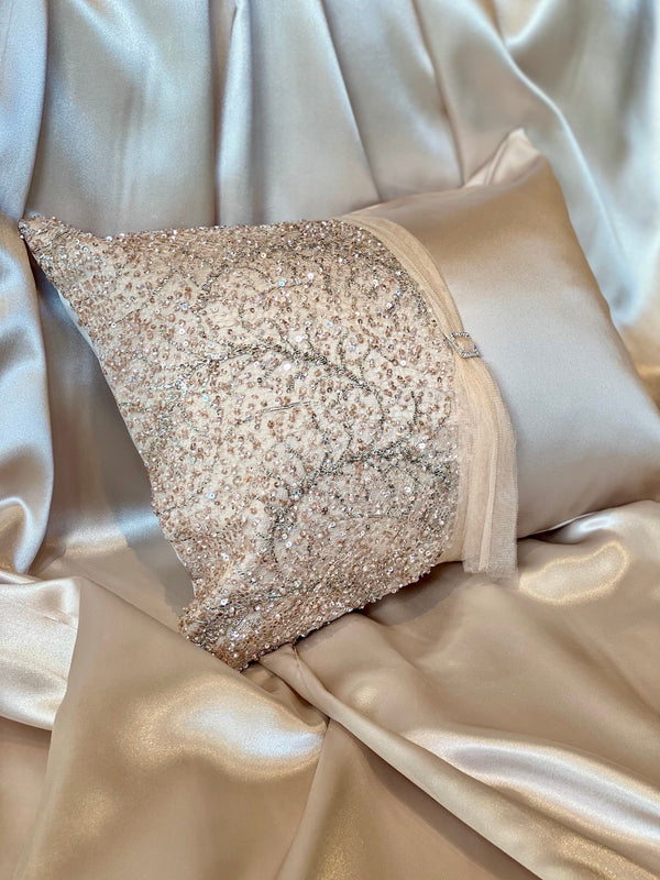 NUDE DIAMOND ECO-CUSHION - ALEEM YUSUF