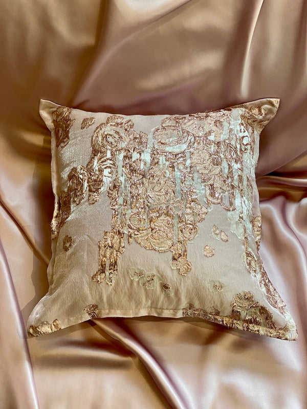 PINK ROSES ECO-CUSHION - ALEEM YUSUF