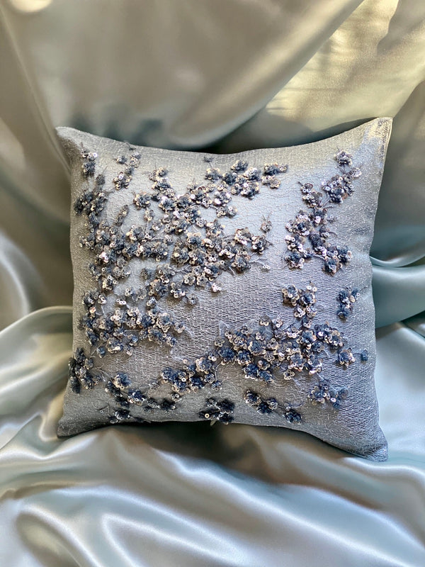 BLUE LOTUS ECO-CUSHION - ALEEM YUSUF