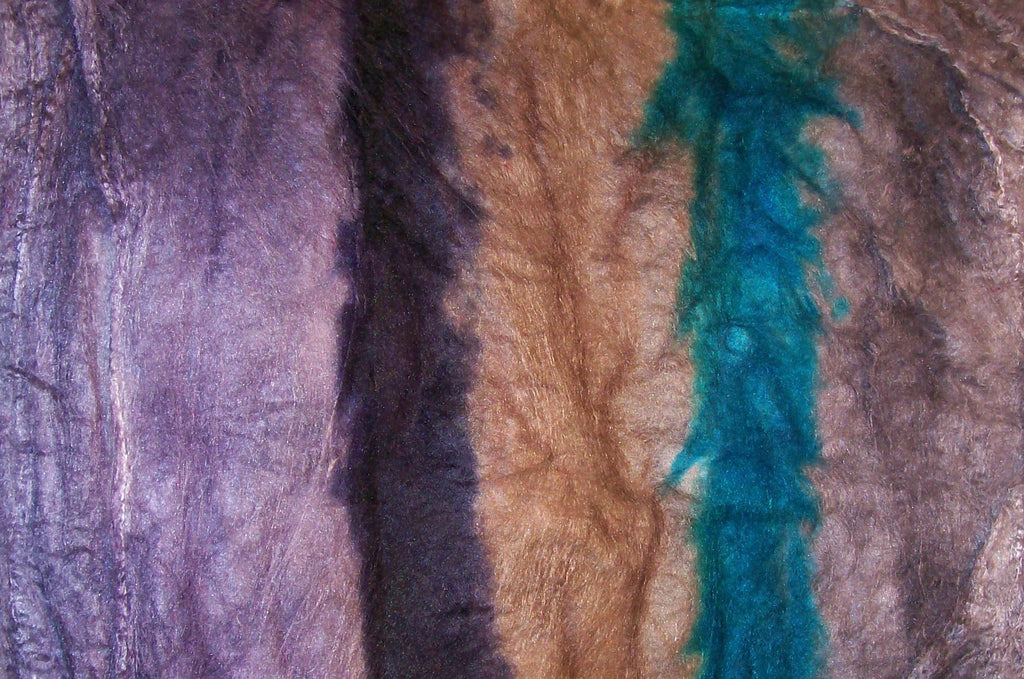 "Cultivated Silk ""Hankies"" .8 oz. colorway - Dove - $20.00"