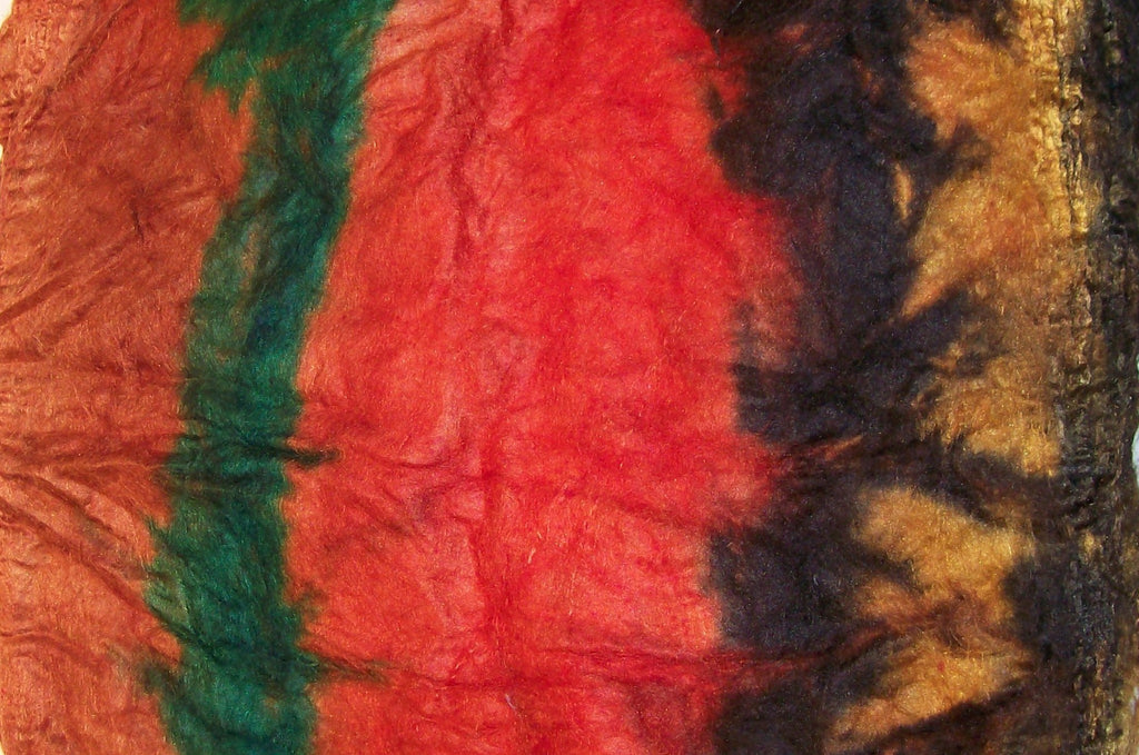 "Cultivated Silk ""Hankies"" .8 oz. colorway - Grand Canyon - $20.00"