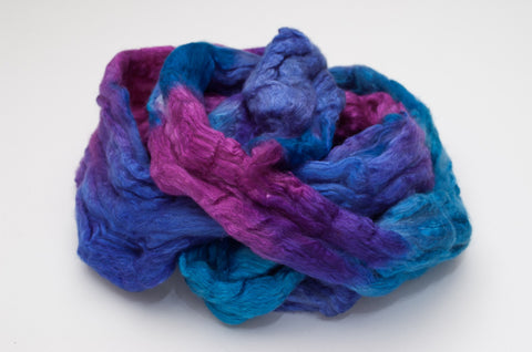 Bombyx / Merino Combed Top 50/50 blend 2oz. colorway - Bubblegum - $24.00