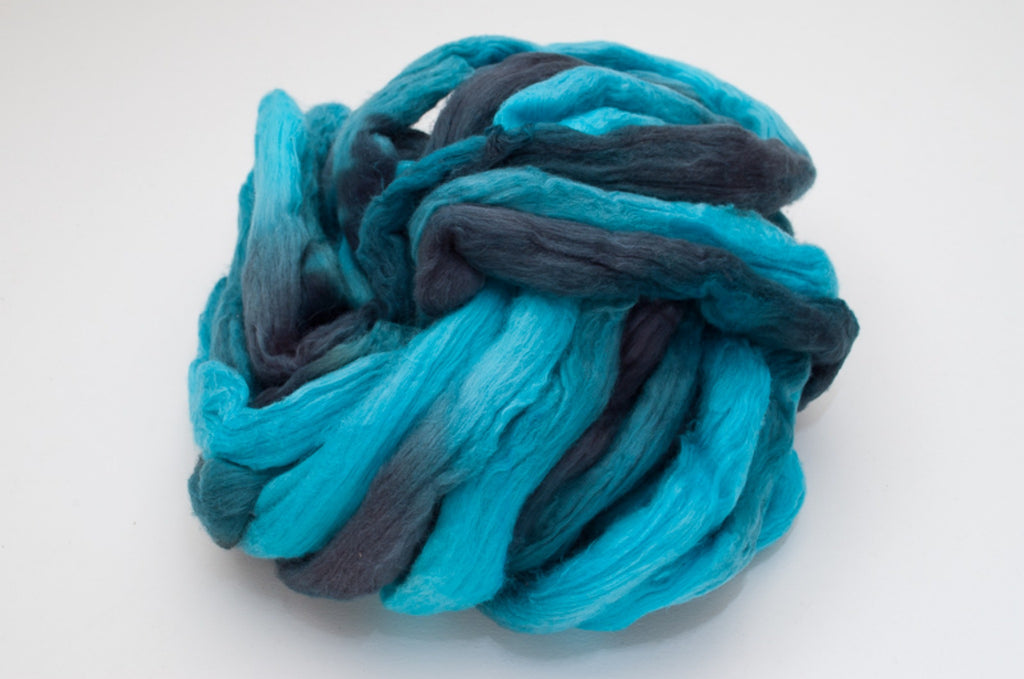 Cotton Carded Sliver 2oz. colorway - Starry Starry Night $24.00