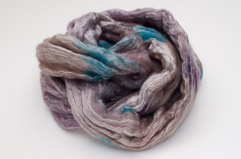 Bamboo / Merino Combed Top 50/50 blend 2oz. colorway - Dove - $18.50