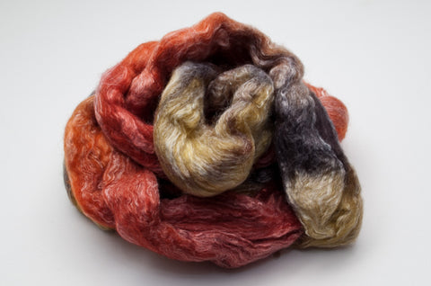 Bamboo / Merino Combed Top 50/50 blend 2oz. colorway - Solstice - $18.50