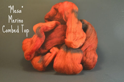 Merino Combed Top 2oz. colorway - Mesa $16.50