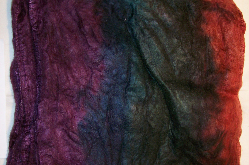 "Cultivated Silk ""Hankies"" .8 oz. colorway - Magic Carpet $20.00"