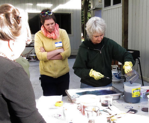 Dye Workshop: July 15 & 16 Protein Fibers,  July 29 & 30 Cellulose Fibers
