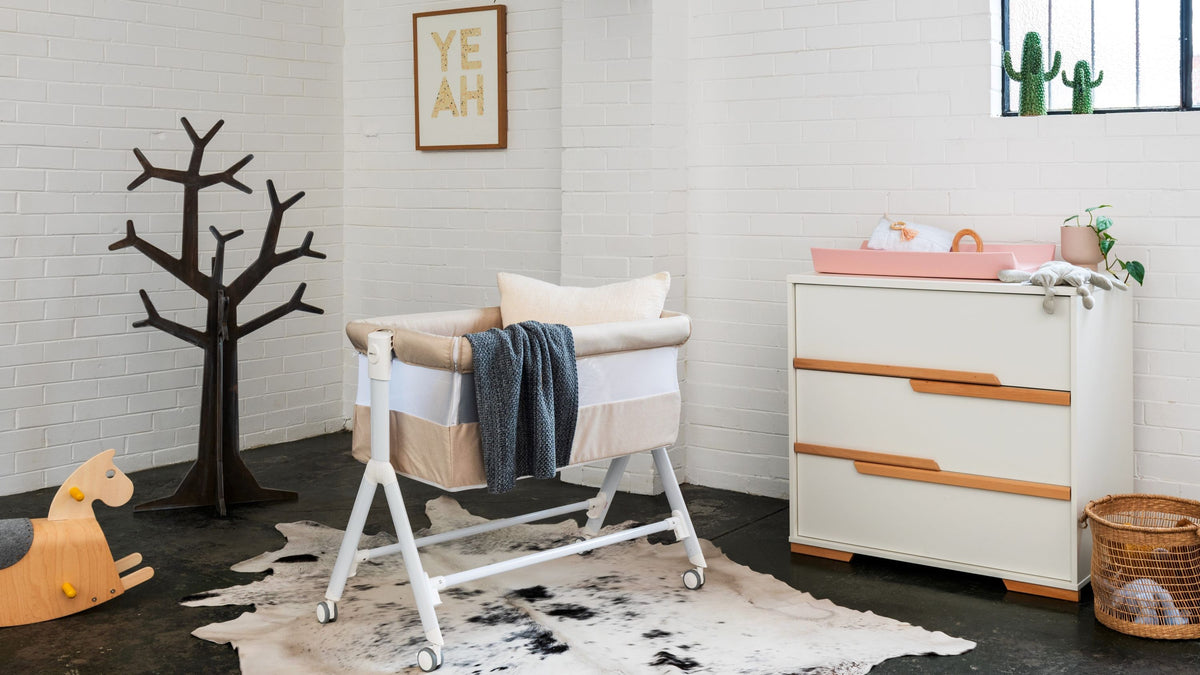 Introducing Aria Bedside Bassinet