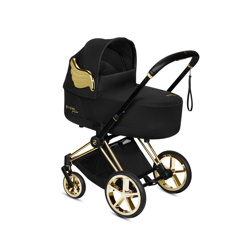 Priam Lux Carry Cot 2020. Cybex by Jeremy Scott Wings