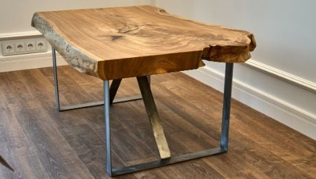 What To Know About Live Edge Wood Slabs