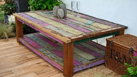 What Reclaimed Wood Furniture Is