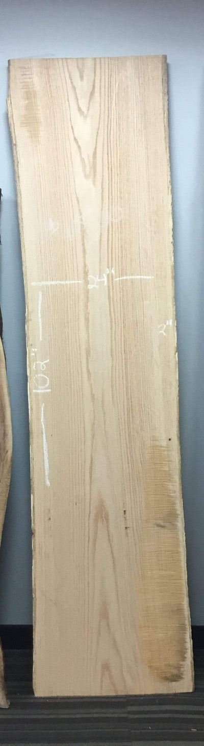 "The Carpentry Shop Co., LLC 102"" White Oak Slab"