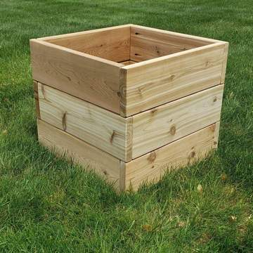 The Carpentry Shop Co., LLC outdoor furniture Knotty Cedar Planters